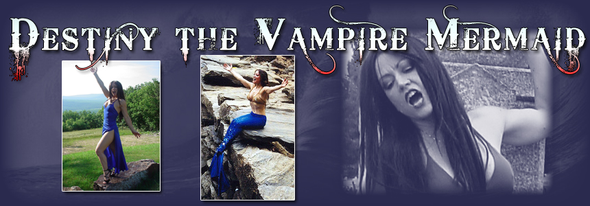 Debbie D - Destiny the Vampire Mermaid